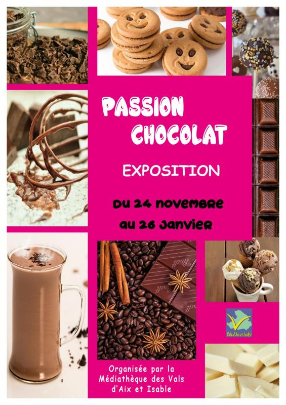 Affiche expo chocolat